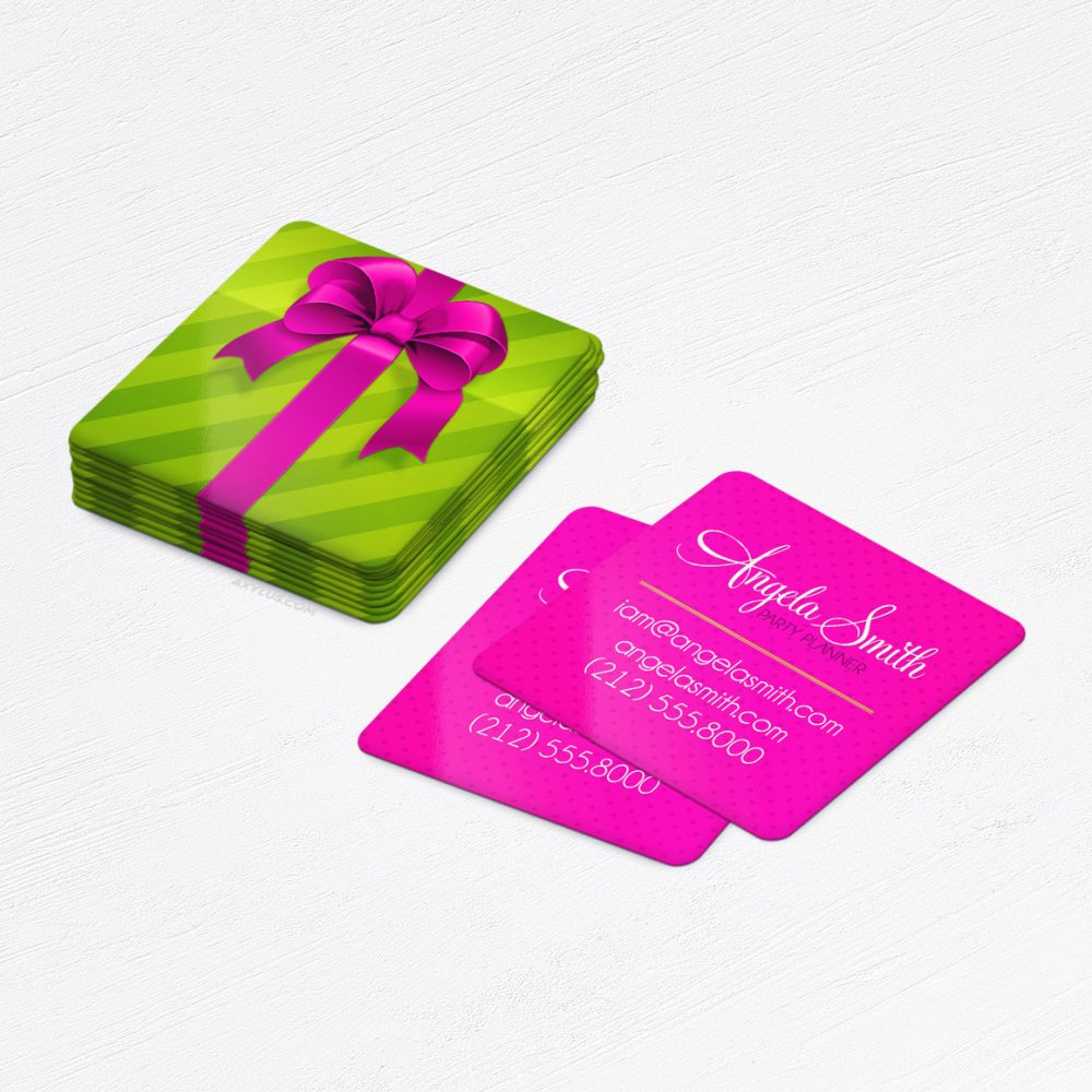 Party Planner Business Cards