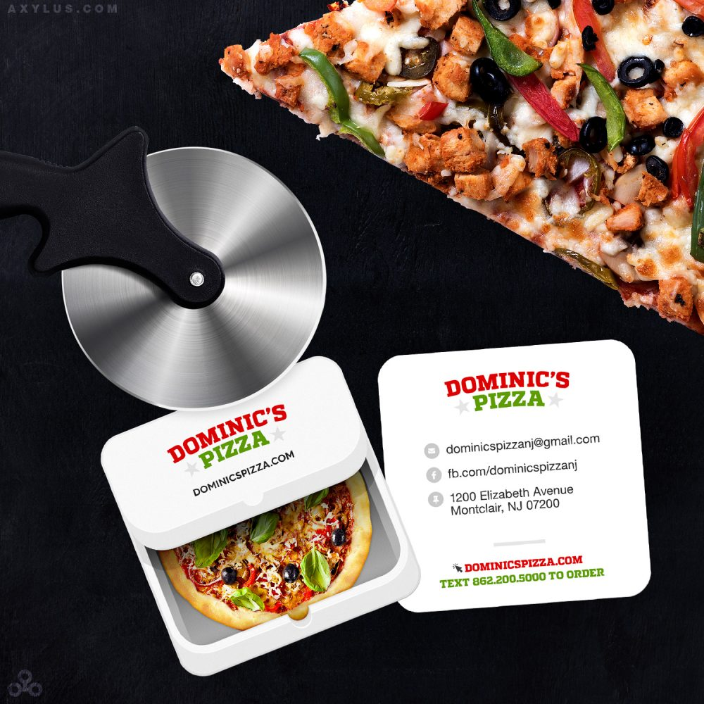 Pizza Restaurant Business Cards