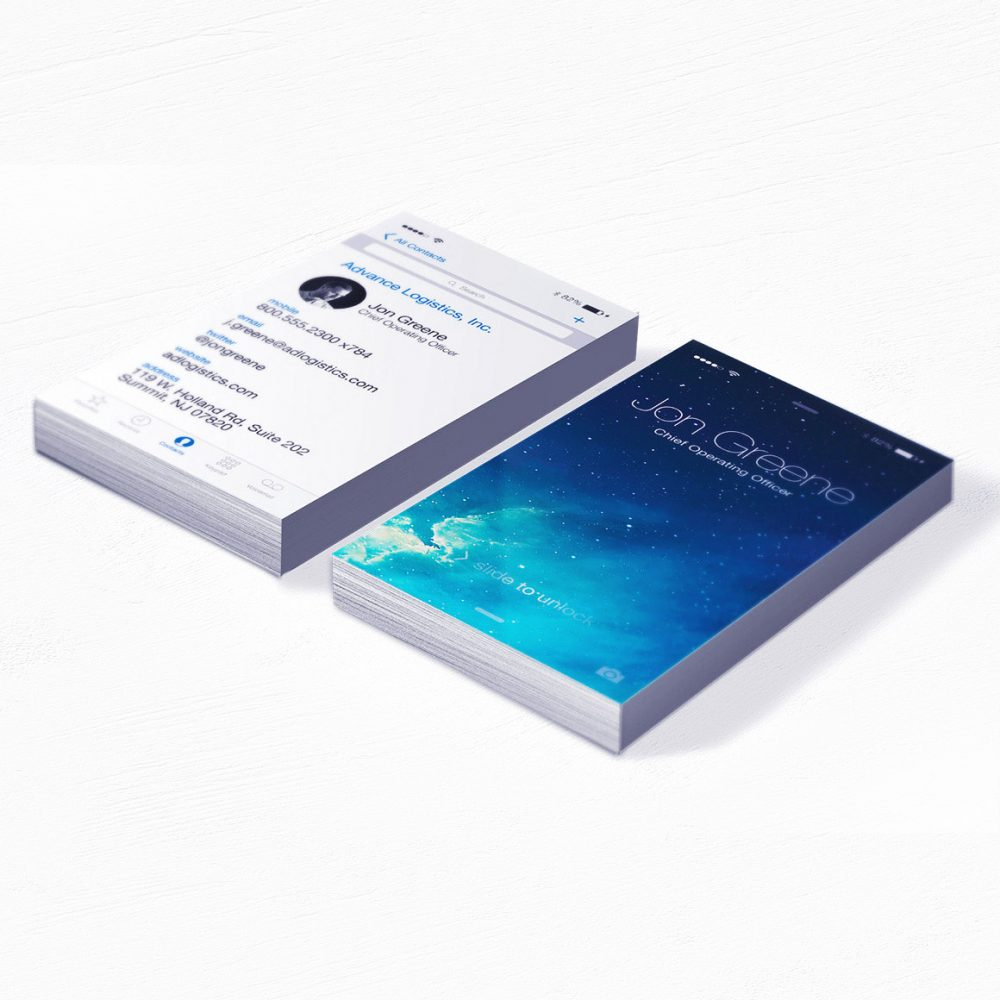 iPhone Repair Business Cards